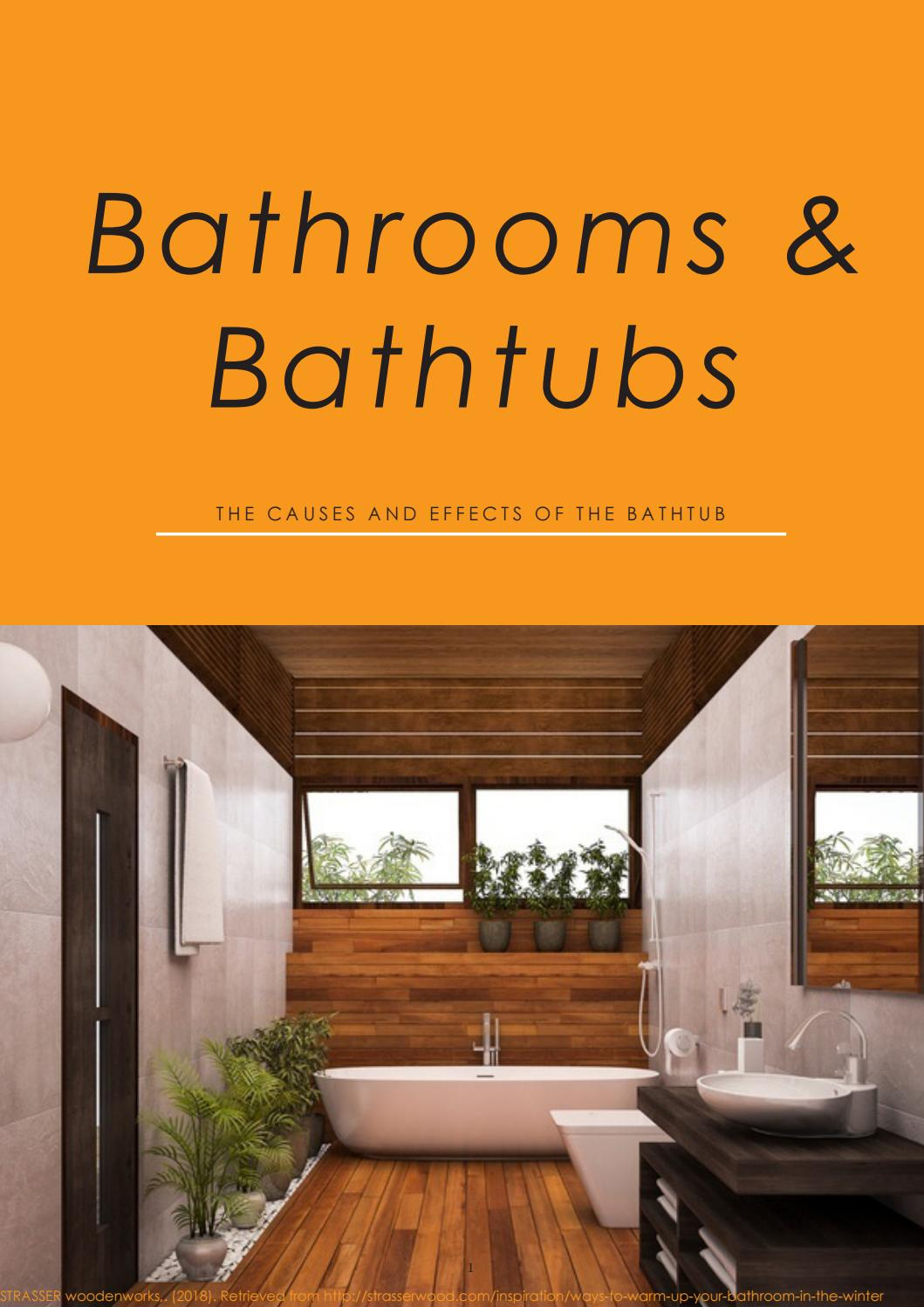 Bathrooms Bathtubs Sarah Ho By Design Studies Issuu