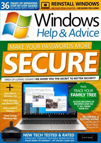 Windows Help and Advice 165 (Sampler) by Future PLC - issuu