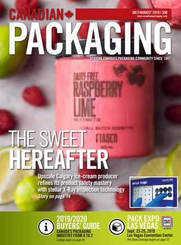Canadian Packaging July/August 2019 by Annex Business Media