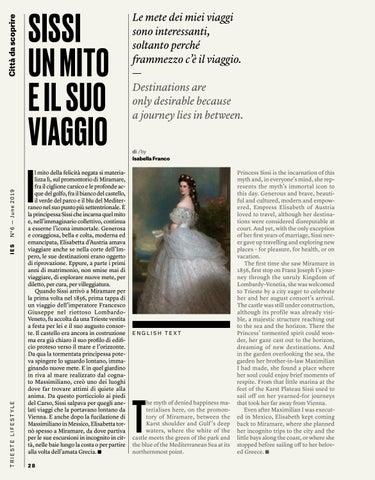 Page 30 of SISSI UN MITO E IL SUO VIAGGIO