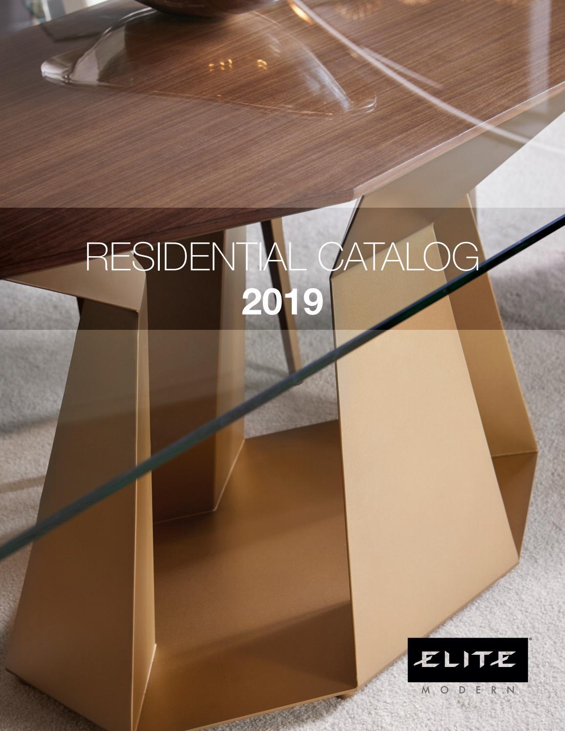 Peachy Residential Catalog By Elite Modern Issuu Evergreenethics Interior Chair Design Evergreenethicsorg