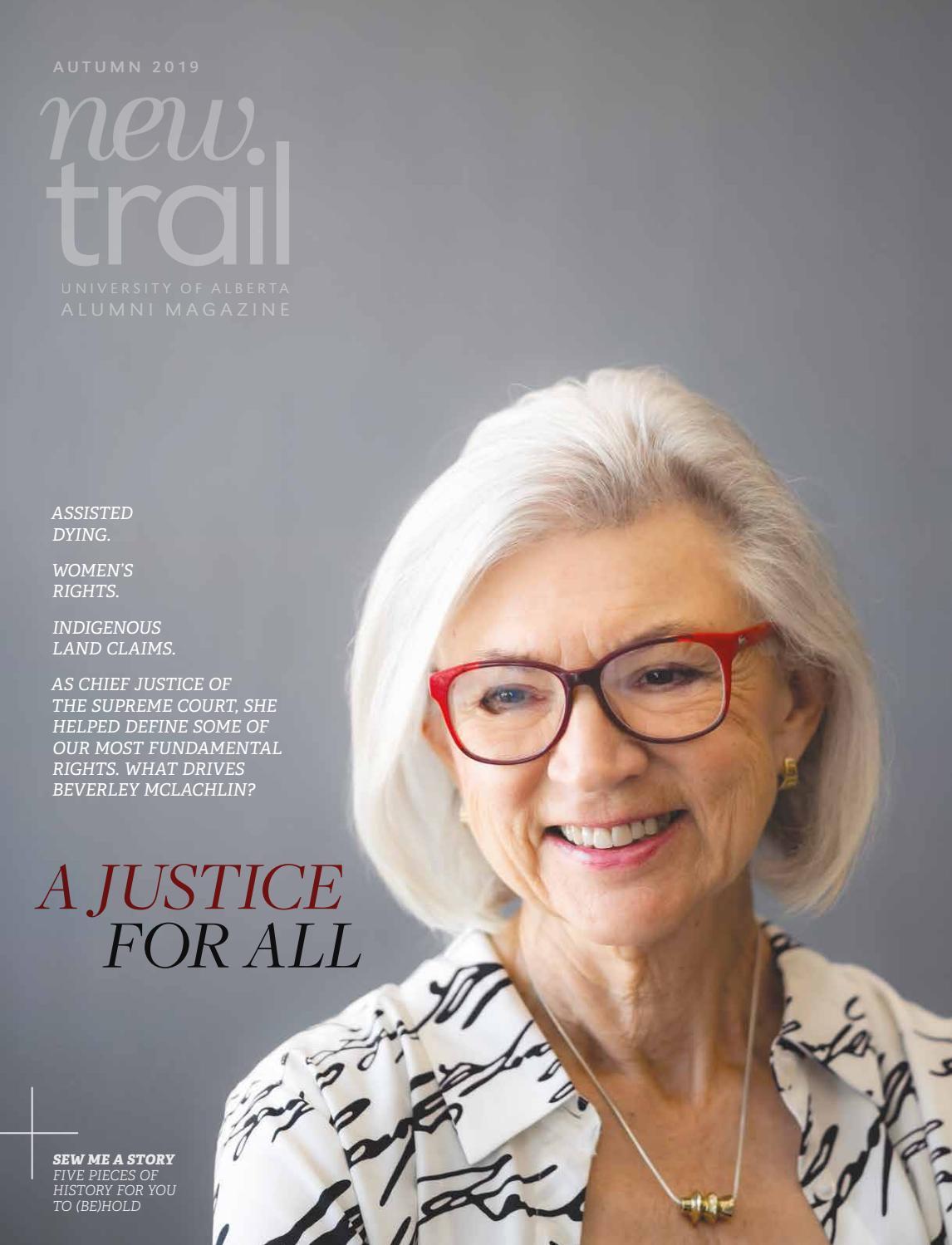 New Trail Autumn 2019 by University of Alberta Alumni - issuu