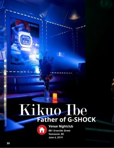 Page 16 of Kikuo Ibe ☆ Inventor of GShock Watches Visits Vancouver