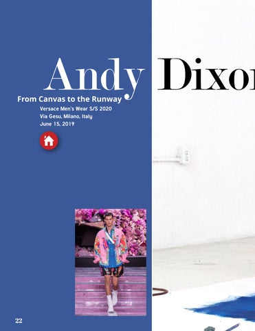 Page 22 of Andy Dixon ☆ From Canvas to Runway with Versace
