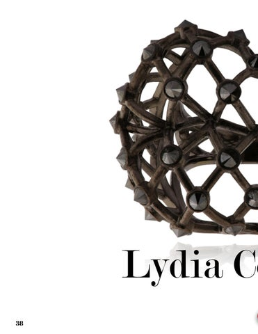 Page 38 of La Vie en Rose Collection by Parisian Jeweler Lydia Courtielle