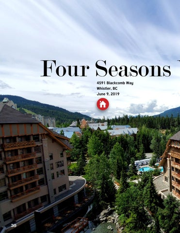 Page 50 of Four Seasons Whistler Week-End Get-Away