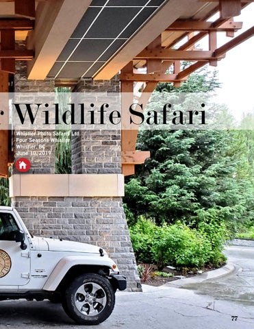 Page 77 of Whistler Wildlife Safari