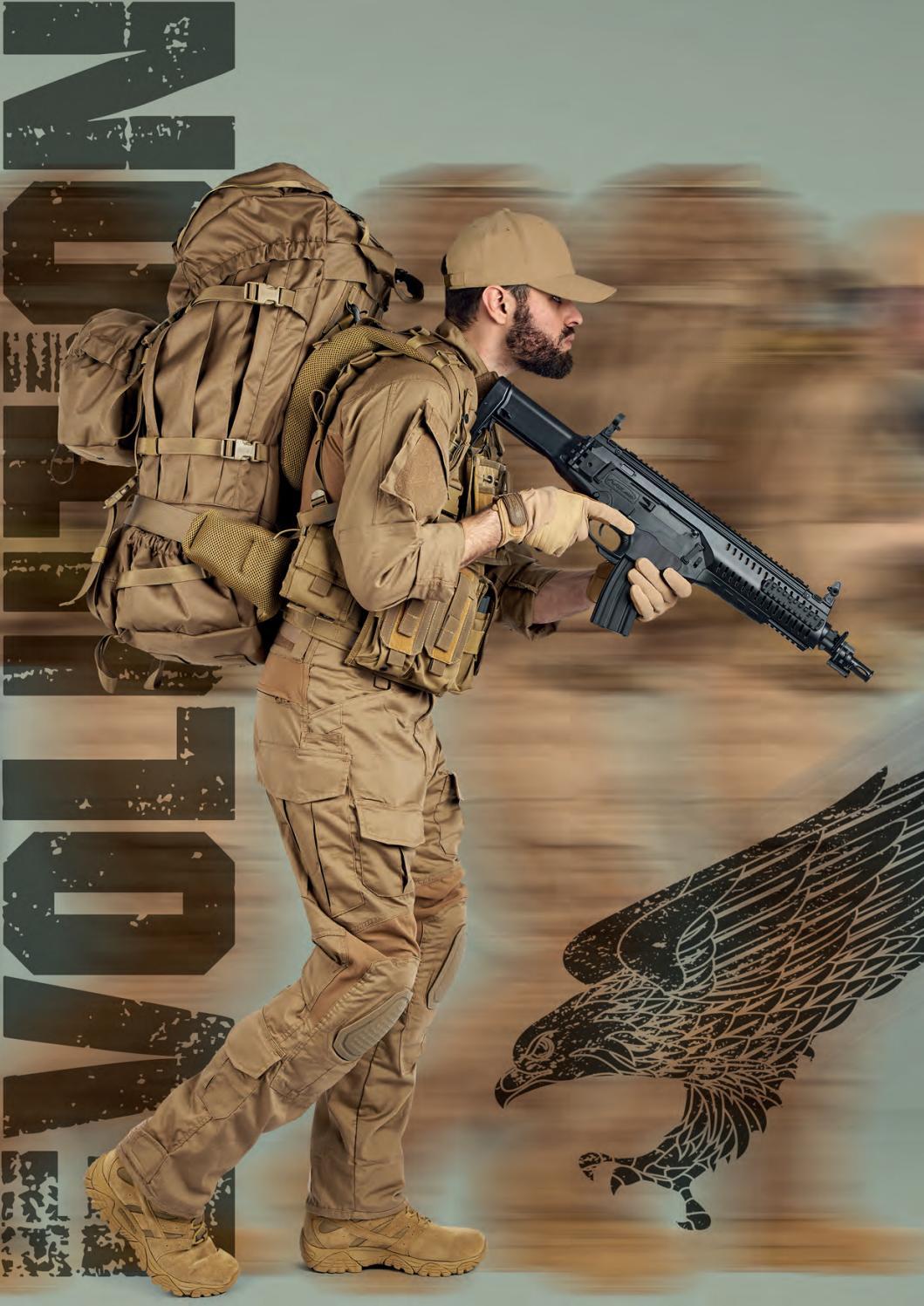 Tasca Militare Modulare Command Pannel Defcon 5 Coyote