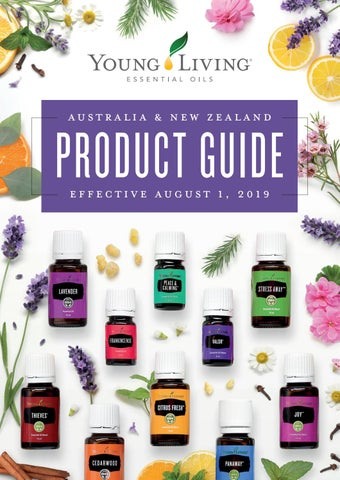 41796a745 Australia & New Zealand Product Guide by Young Living Essential Oils ...