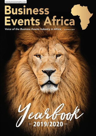 Business Events Africa Yearbook June 2019 Vol 39 No 6 by