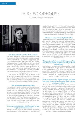 Page 110 of Backchat: Mike Woodhouse