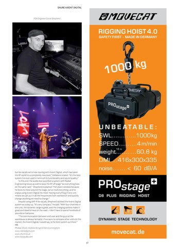 Page 87 of In the Field: Shure Axient Digital