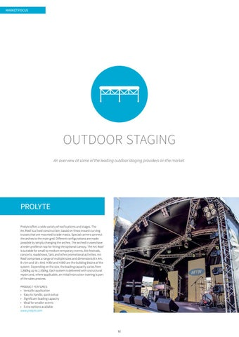 Page 92 of Market Focus: Outdoor Staging