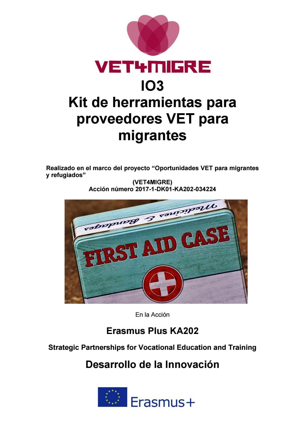 Io3 Kit De Herramientas Para Proveedores Vet Para Migrantes