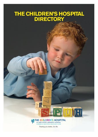Children's Directory | Saint Peter's HealthCare System