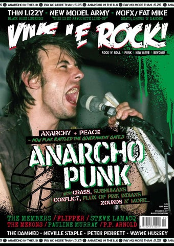VIVE LE ROCK 65 ANARCHO PUNK by Big Cheese Publishing - issuu