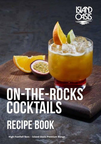 Page 1 of On-The-Rocks Cocktails
