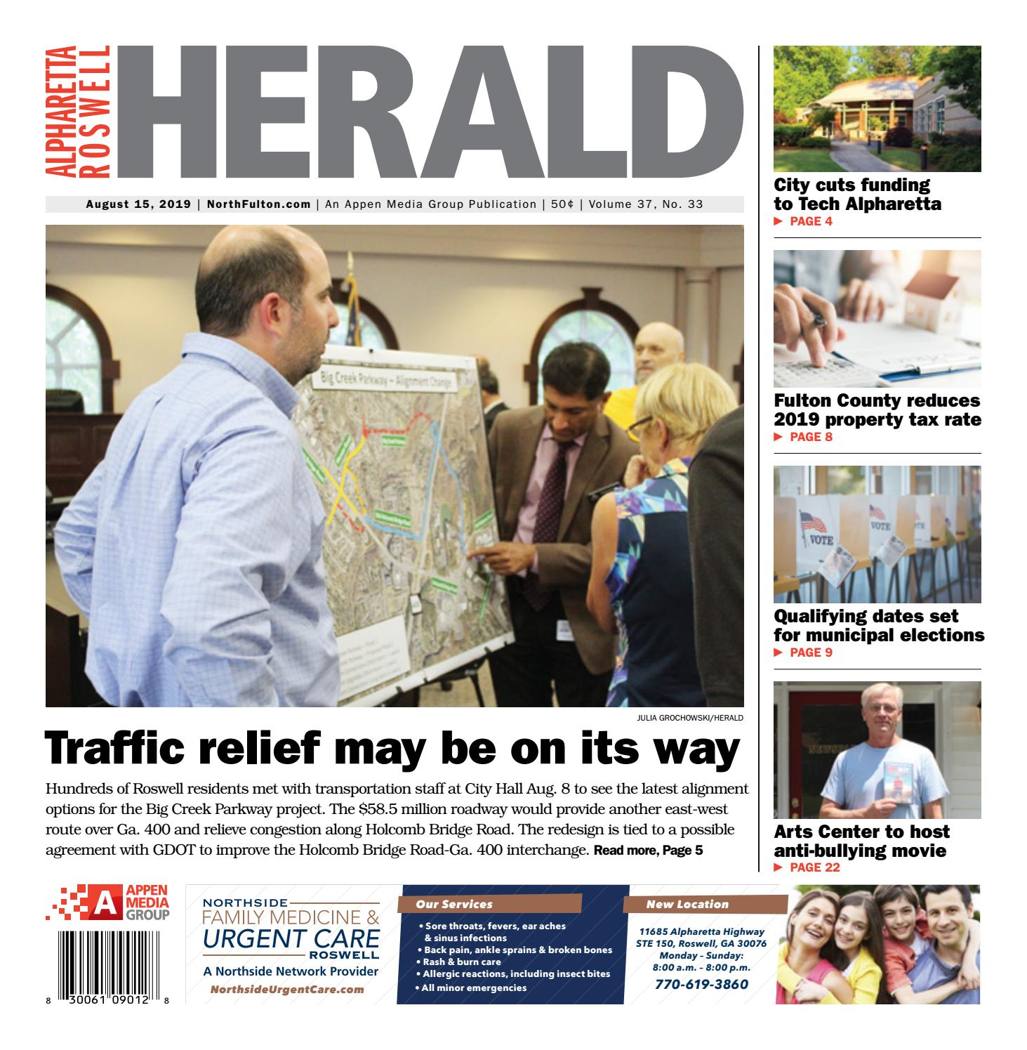 Alpharetta Roswell Herald August 15 2019 By Appen Media Group Issuu
