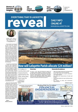 Reveal Lafayette August 2019 By Wick Communications Issuu