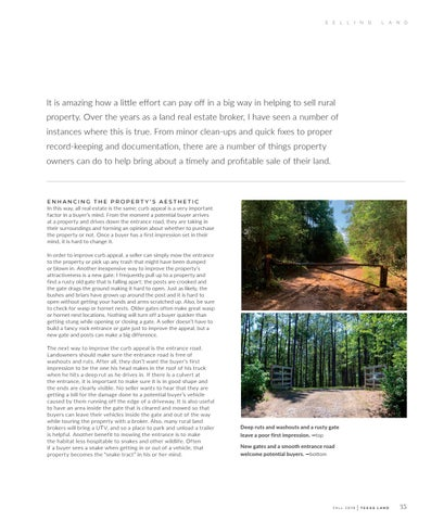 Page 51 of Tips from a Land Broker: Preparing Your Land for Sale