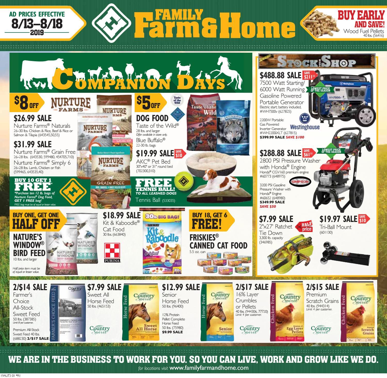 Family Farm Home 19aut3 Ad Effective August 13 August