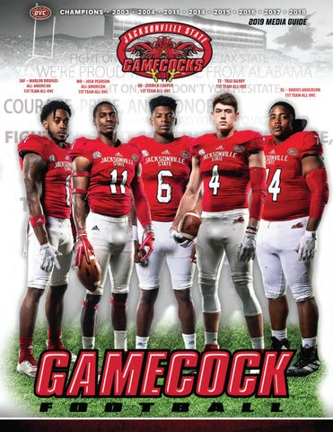 2019 JSU Football Media Guide - Jacksonville State