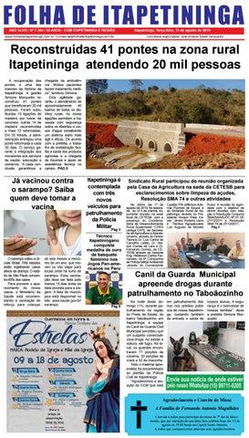 Folha de Itapetininga 13/08/2019 (Terca-feira)