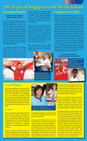 Page 4 of The Pride of Singapore and Metta School