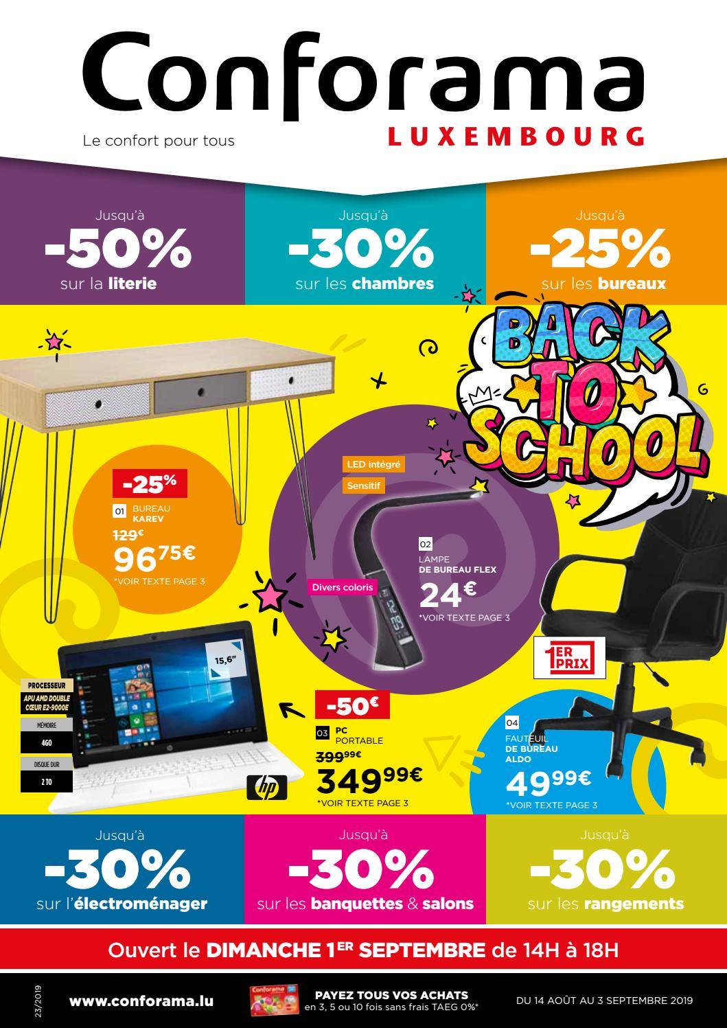 Doc23 Back To School By Conforama Luxembourg Issuu