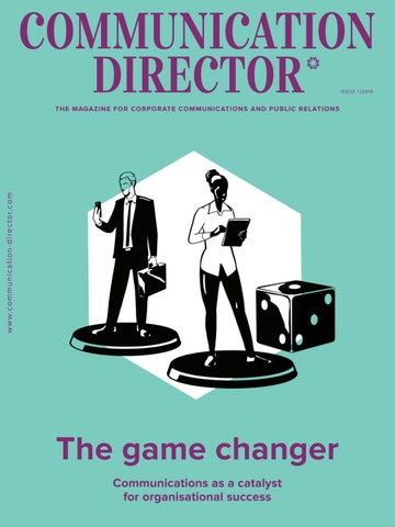 Communication Director - The game changer - 01/2019 by