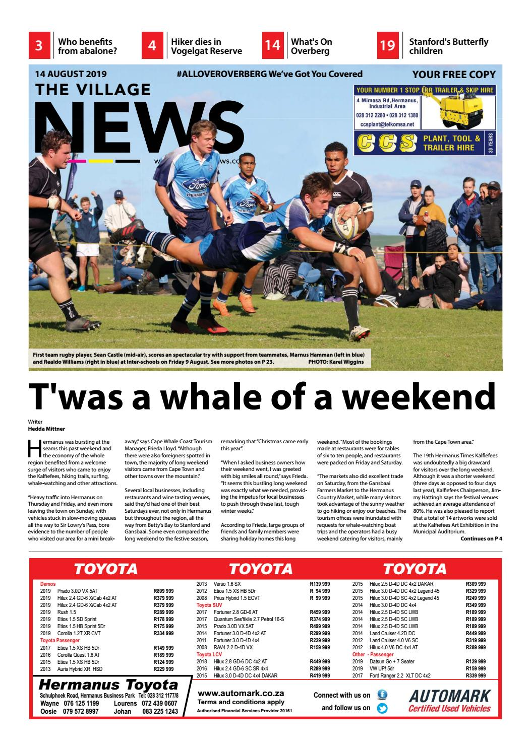 The Village NEWS 14 Aug - 21 Aug 2019 by The Village NEWS