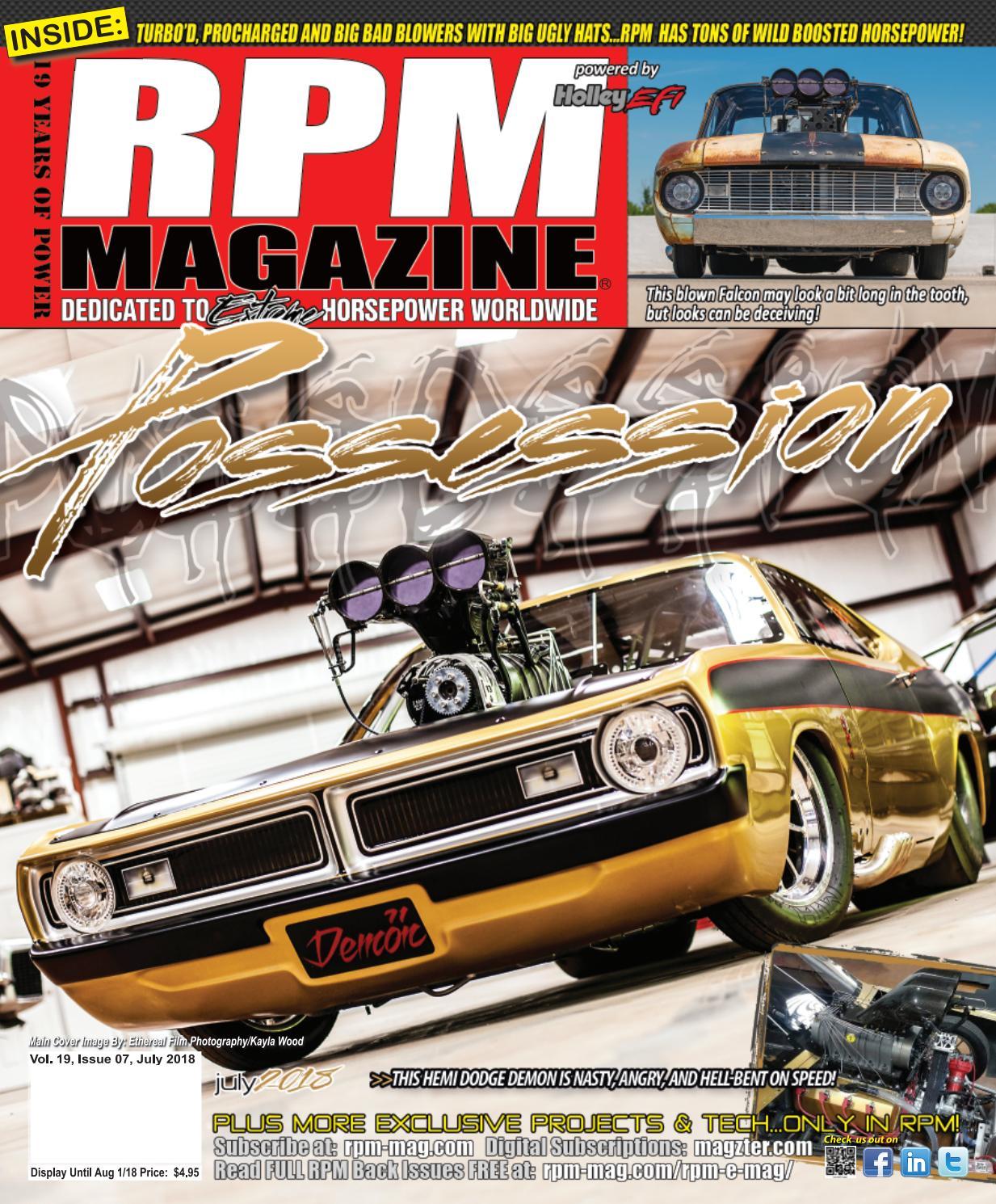 RPM Magazine July 2018 by RPM Magazine - issuu
