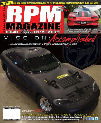 RPM Magazine January 2018 by RPM Magazine - issuu