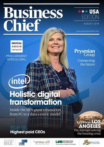Business Chief USA Magazine – August 2019 by Business Chief