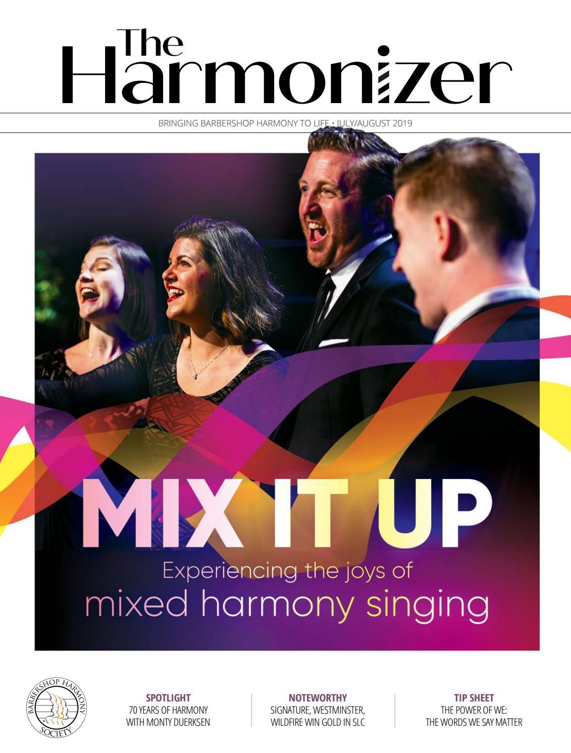 Andy Mannah the harmonizer, july/august 2019the harmonizer - issuu