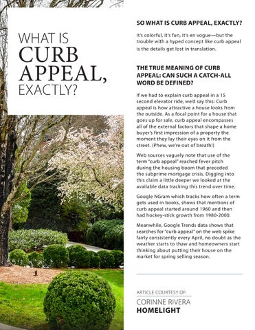 Page 5 of What is Curb Appeal, exactly?