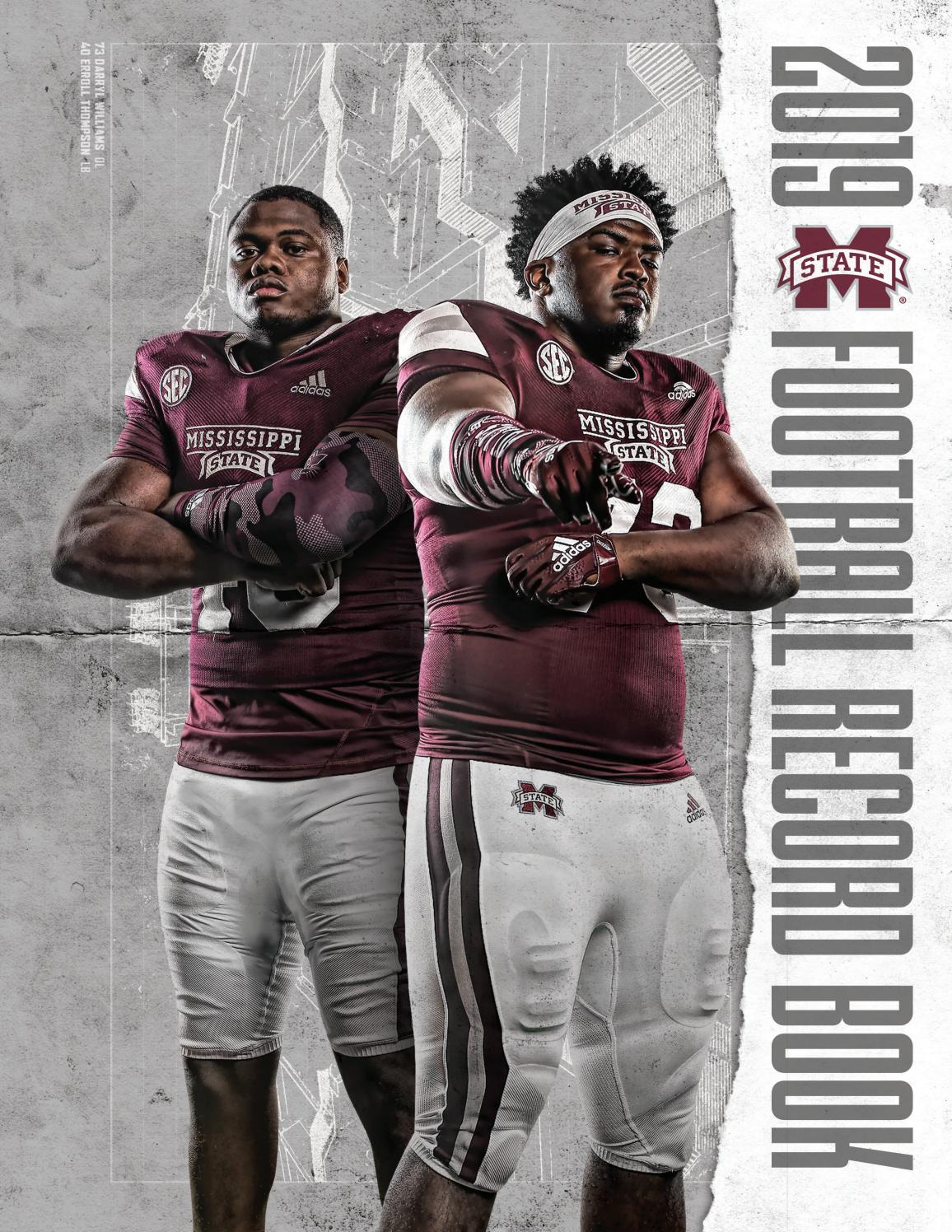 2019 Mississippi State Football Record Book by Mississippi