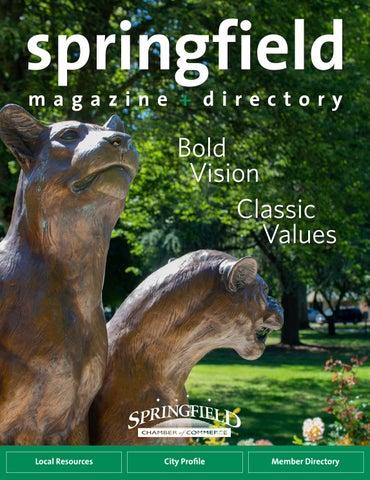 2019-2020 Springfield Magazine + Directory by Springfield
