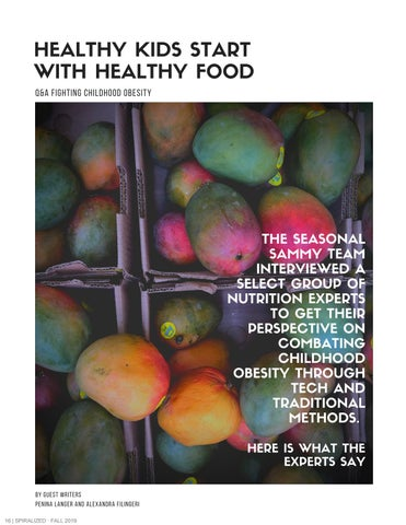 Page 17 of Healthy Kids Start with Health Food