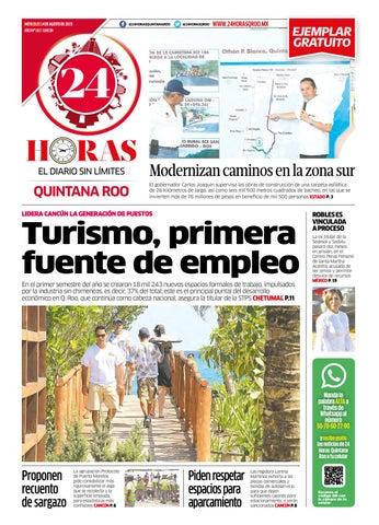 24 Horas Quintana Roo 14 De Agosto 2019 By 24 Horas