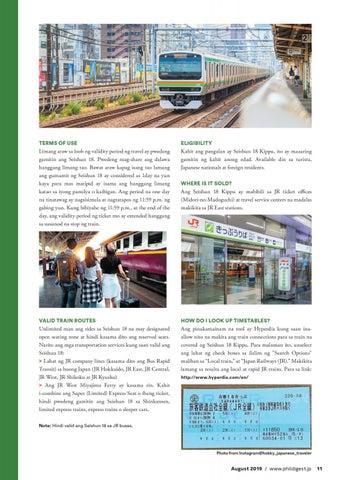 Page 11 of Train Ride Deal Using Seishun 18 Kippu