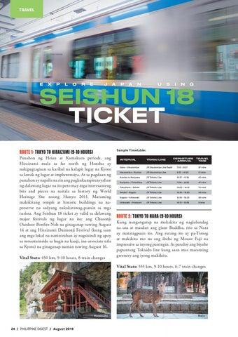 Page 24 of Explore Japan Using Seishun 18 Ticket