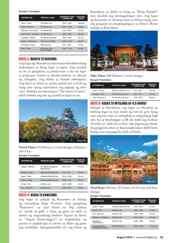 Page 25 of Explore Japan Using Seishun 18 Ticket