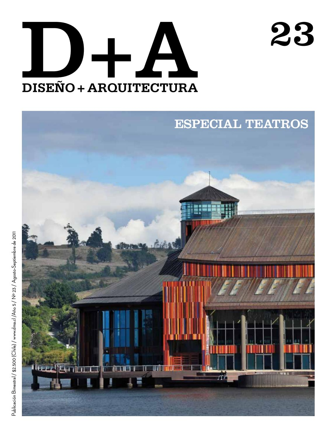 Diseño Arquitectura Nº 23 By Diseñoarquitectura Cl Issuu