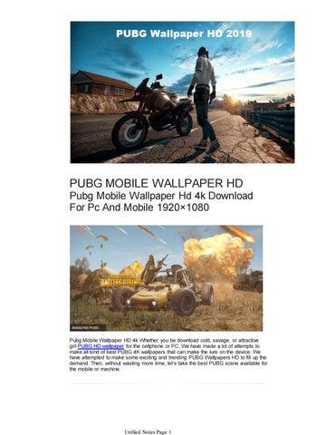 Pubg Mobile Wallpaper Hd By Onlinetehzeemi Issuu