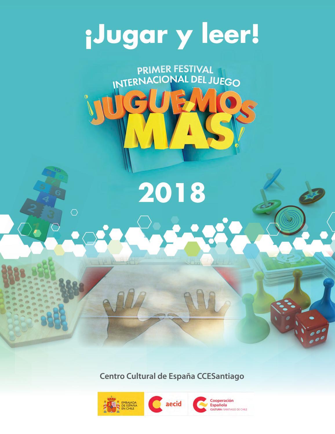 Jugar y leer! Primer Festival Internacional de juegos ¡Juguemos más! 2018  by AECID PUBLICACIONES - issuu