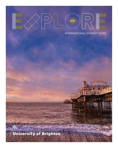 International Student Guide 2020 by University of Brighton