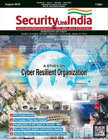 SecurityLink India August 2019 Magazine by Security Link