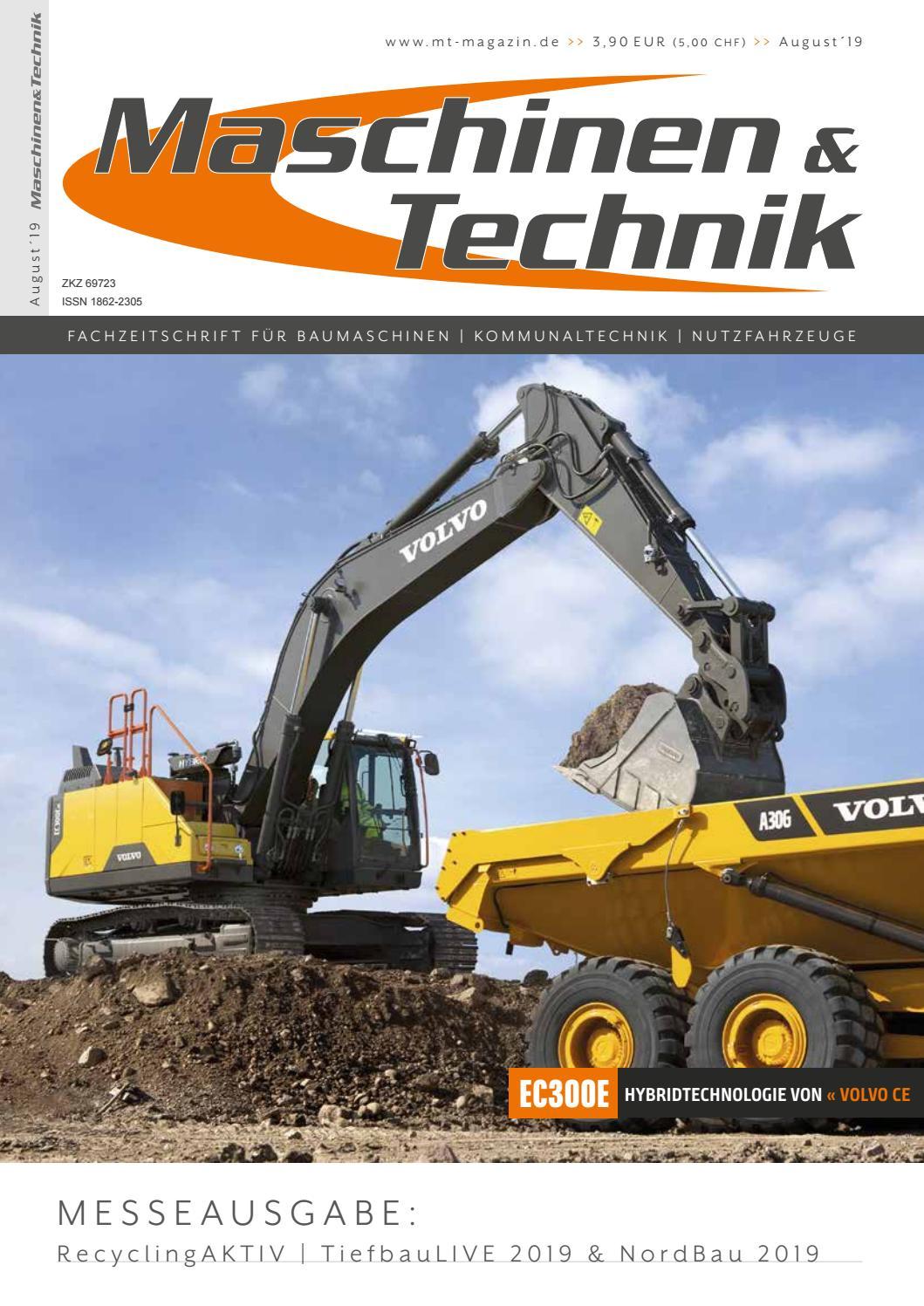 Maschinen & Technik | August 2019 by TB Verlag issuu