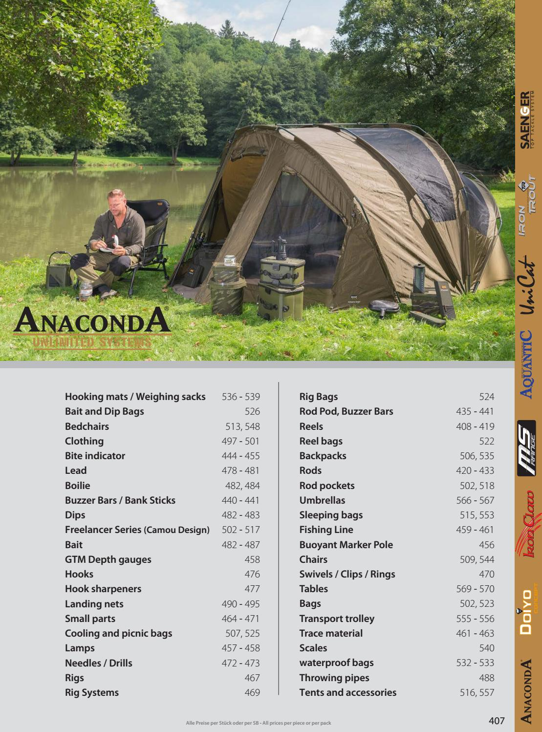 ANACONDA Bent Hopper Pod Rod Pod by TACKLE-DEALS !!!